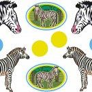 Zebra Wall Decal Assortment Packs