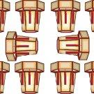 Chinese Lanterns Wall Decal Pattern Assortment Packs