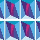 Rectangular Diamonds Wall Decal Pattern Assortment Packs