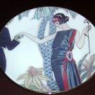 FITZ & FLOYD Fashion Plates- La Plume - Collector plate