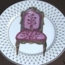 FITZ & FLOYD CHAISE III COLLECTOR  PLATE- BEAUTIFUL