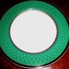 Fitz & Floyd Chaumont Teal Bread and Butter Plate