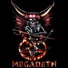 MEGADETH BLACK TEE HEAVY METAL T SHIRT Size S / D69
