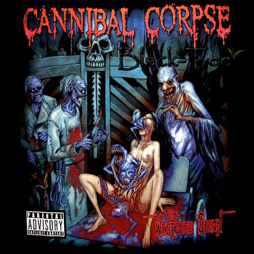 CANNIBAL CORPSE DEATH METAL TEE T SHIRT Size M / D72