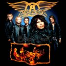 AEROSMITH BLACK ROCK TEE T SHIRT BAND Size S / E88