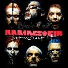 RAMMSTEIN METAL ROCK TEE T SHIRT SEHNSUCHT Size M / E94