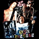 SEX PISTOLS BLACK PUNK ROCK TEE T SHIRT Size XL / E77