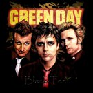 GREEN DAY BLACK TEE PUNK ROCK T SHIRT SIZE L / D75