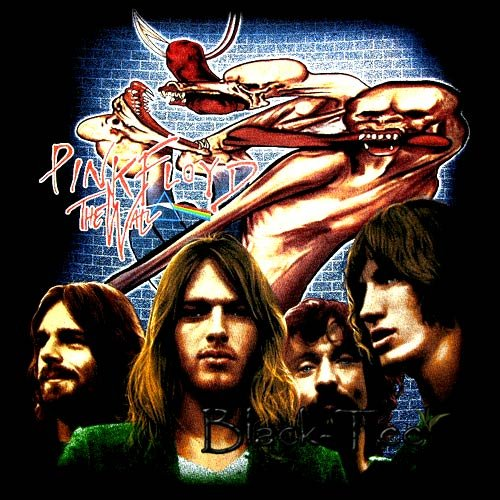 PINK FLOYD THE WALL ROCK TEE T SHIRT SIZE M / D82