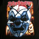 SLIPKNOT MASK BLACK HEAVY METAL TEE T SHIRT Size L / D16