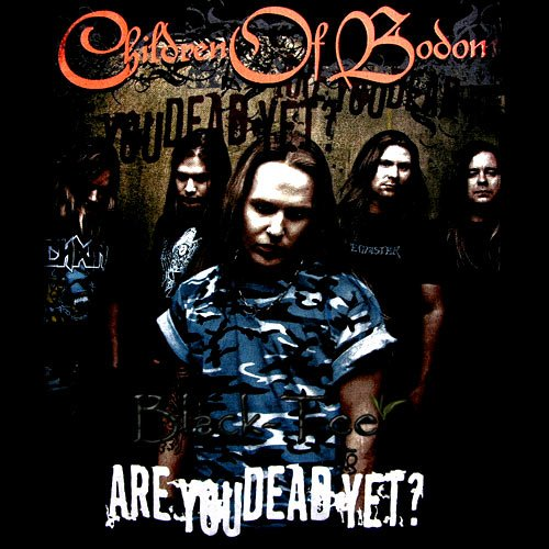CHILDREN OF BODOM METAL T SHIRT R U DEAD YET? Size XL / D66