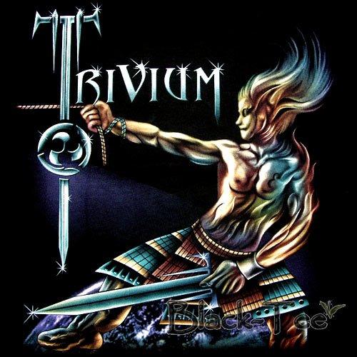 TRIVIUM HEAVY METAL T SHIRT THE CRUSADE SIZE M / G03