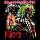 IRON MAIDEN HEAVY METAL TEE T SHIRT KILLERS Size XL / F97