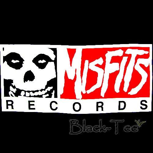 MISFITS RECORDS PUNK T SHIRT HORROR ROCK SIZE L / F43