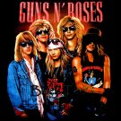 GUNS N ROSES BLACK ROCK TEE T SHIRT SIZE S / D68