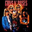 GUNS N ROSES BLACK ROCK TEE T SHIRT Size L / D68