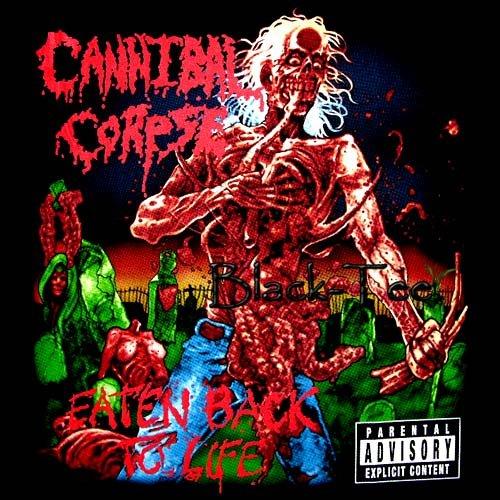 CANNIBAL CORPSE DEATH METAL TEE T SHIRT EATEN Size XL / D73