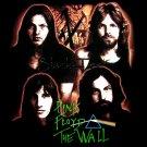 PINK FLOYD BLACK ROCK TEE T SHIRT THE WALL Sz. S / D83