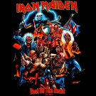 IRON MAIDEN HEAVY METAL T SHIRT BEAST TEE Sz.S E33