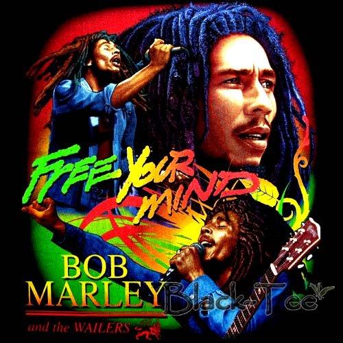 BOB MARLEY REGGAE TEE T SHIRT JAMAICA SIZE L / E66