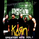 KORN GREATEST HITS VOL.1 TEE T SHIRT METAL Sz. M / E70