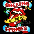 THE ROLLING STONES TEE T SHIRT TATTOO YOU SIZE M / E71