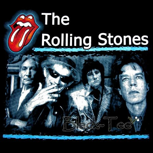THE ROLLING STONES TEE T SHIRT BAND SIZE M / E72