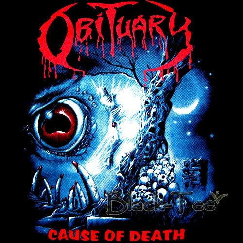 What Stores Accept Paypal Credit >> OBITUARY BLACK TEE T SHIRT CAUSE OF DEATH SIZE M / E83