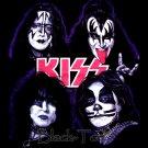 KISS HARD ROCK TEE T SHIRT HEAVY METAL SIZE S / E86