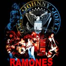 THE RAMONES BLACK PUNK TEE T SHIRT BAND SIZE XL / E93