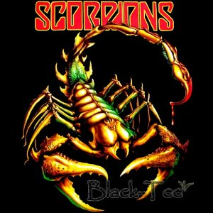 Stores That Accept Paypal Credit Online >> SCORPIONS HARD ROCK TEE T SHIRT SCORPION SIZE XL / E97