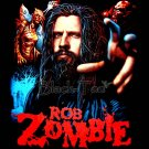 ROB ZOMBIE HEAVY METAL TEE T SHIRT BLACK SIZE L / F04