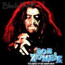 ROB ZOMBIE BLACK HEAVY METAL TEE T SHIRT SIZE L / F05