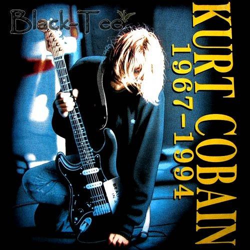 KURT COBAIN : NIRVANA ROCK TEE T SHIRT SIZE XL / F07