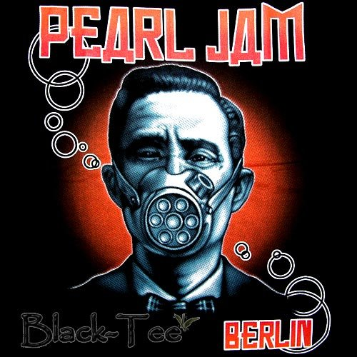 PEARL JAM HARD ROCK TEE T SHIRT BERLIN SIZE S / F08