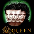 QUEEN HEAD HARD ROCK BLACK TEE T SHIRT SIZE M / F14