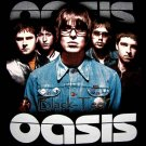 OASIS BLACK ROCK TEE T SHIRT BAND SIZE L / F16