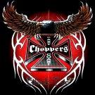 EAST COAST CHOPPERS BLACK TEE T SHIRT SIZE S / F23
