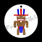 FRIKI-TIKI   Ameri-Tiki   Porcelain Christmas Ornament - NEW Collectible