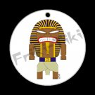 FRIKI-TIKI   Pharaoh-Tiki   Porcelain Christmas Ornament - NEW Collectible