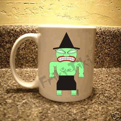 FRIKI-TIKI   Witch-Tiki   11oz Ceramic Coffee Mug - NEW Collectible