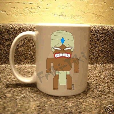 FRIKI-TIKI   Turban-Tiki   11oz Ceramic Coffee Mug - NEW Collectible