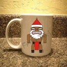 FRIKI-TIKI   Santa-Tiki   11oz Ceramic Coffee Mug - NEW Collectible