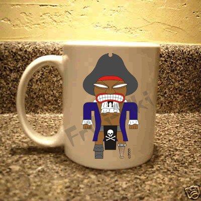 FRIKI-TIKI   Pirate-Tiki   11oz Ceramic Coffee Mug - NEW Collectible