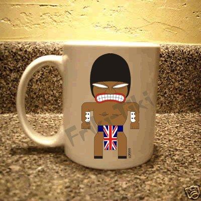 FRIKI-TIKI   Brit-Tiki   11oz Ceramic Coffee Mug - NEW Collectible