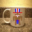 FRIKI-TIKI   Ameri-Tiki   11oz Ceramic Coffee Mug - NEW Collectible