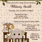 ELEPHANT Baby Shower Invitation Nali Jungle NJE (DIGITAL)