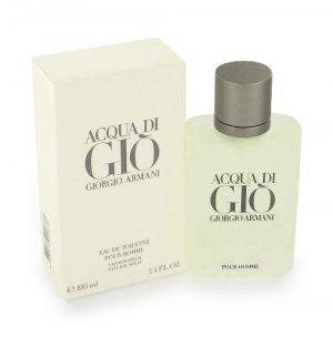 Acqua Di Gio Cologne by Giorgio Armani for Men EDT 3.3 oz
