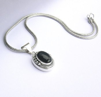 Sterling Silver Necklace - Balinese Imported
