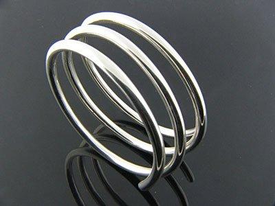 Sterling Silver Coil Bracelet